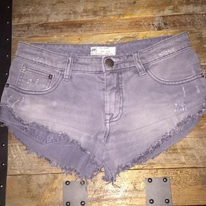 Free People Women's Destroyed Cutoffs